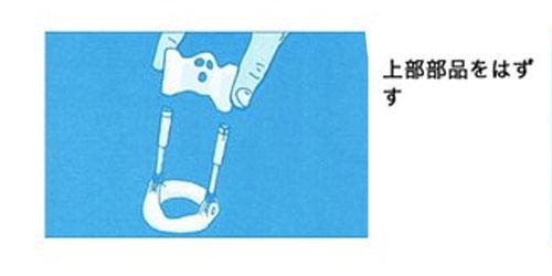 牽引型ペニス増大器具付け方2